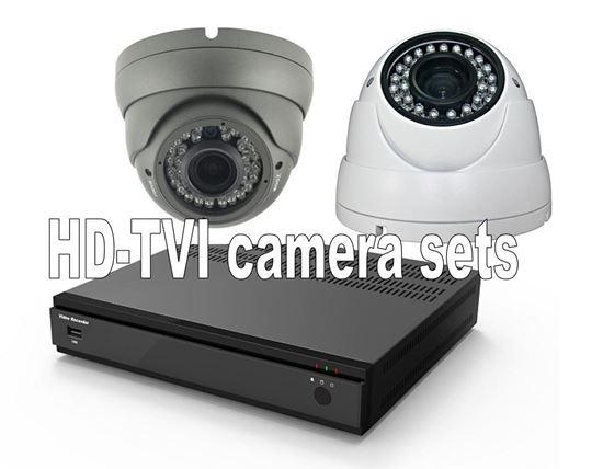 Afbeelding van HD-TVI set met 2 camera's